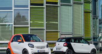 Концерн Daimler представил новые Ситикар Smart ForTwo и Smart ForFour