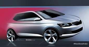 Skoda натякнула на дизайн нової Fabia