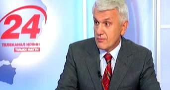 Журналистка заставила понервничать Литвина в прямом эфире (Видео)