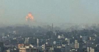 В Секторе Газа с начала конфликта погибли более 1000 палестинцев