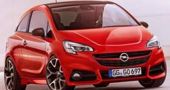 Opel Corsa отримає 200 конячок