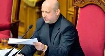 Виборчу кампанію на дострокових виборах можуть скоротити до 45-ти днів, — Турчинов