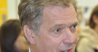 Президент Финляндии едет в Киев на переговоры с Порошенко
