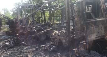 """Батальйон """"Донбас"""" показав свою базу в Іловайську після артобстрілу"""