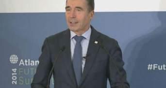 Мы приостановили сотрудничество с Россией и с новой силой работаем с Украиной, — Расмуссен