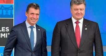Прямой эфир — пресс-конференция генсека НАТО Расмуссена и Петра Порошенко