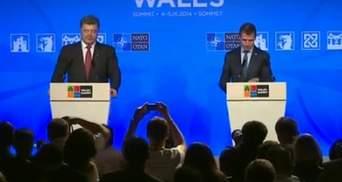 У ці важкі часи НАТО стоїть пліч-о-пліч з Україною, — Расмуссен