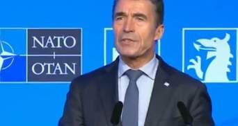 Страны НАТО предоставят Украине дополнительно 15 млн евро, — Расмуссен