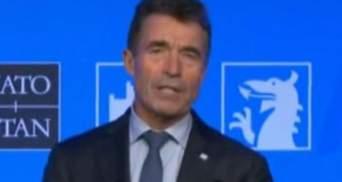 Присоединение Крыма мы не признаем никогда, — Расмуссен