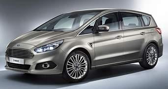 Ford рассекретил S-MAX второго поколения