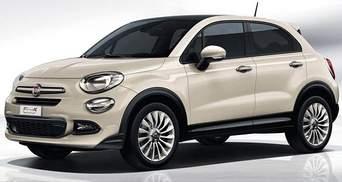 Fiat скинув покривало з паркетника 500X