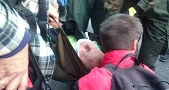 В результате столкновения под ВР есть травмированный (Фото)