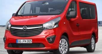 Opel представив новий пасажирський фургон - Vivaro Combi