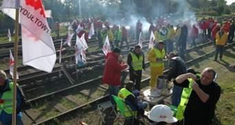 Польские шахтеры протестуют против ввоза угля из России