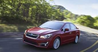 Компанія Subaru освіжила хетчбек та седан Impreza