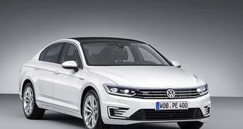 Компания Volkswagen анонсировала гибридную модификацию нового Passat