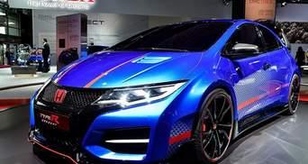 Honda привезла в Париж предсерийный прототип нового Civic Type R