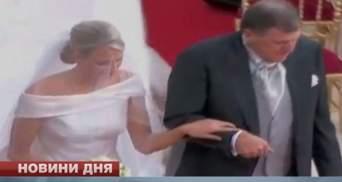Княгиня Монако Шарлен беременна двойней