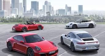 Компания Porsche представила новый спорткар – 911 Carrera GTS
