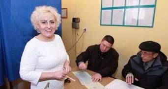 Неля Штепа проголосувала в СІЗО (Фото)