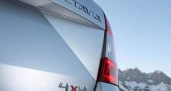 Skoda анонсувала ліфтбек Octavia 4x4