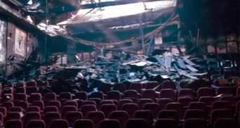 """Пожар в """"Жовтне"""" нанес Киеву ущерб в 7 млн грн"""