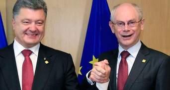 Порошенко і Ромпей побачили прогрес у переговорах щодо газу