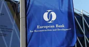 ЄБРР прогнозує, що принесе Україні мільярд євро інвестицій