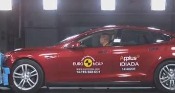 Tesla Model S та нова Skoda Fabia отримали 5 зірок на краш-тестах Euro NCAP