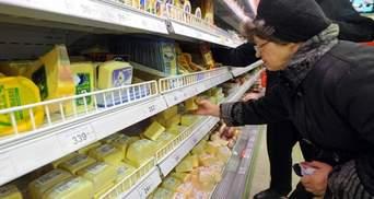 Росія заборонила ввозити сироподібні продукти з України