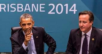 Обама і Кемерон пригрозили Путіну подальшою ізоляцією Росії