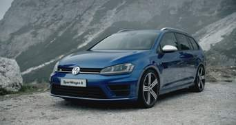 Volkswagen представил спортивный универсал Golf R Variant