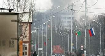 В Грозном продолжается ожесточенный бой возле школы (Видео)
