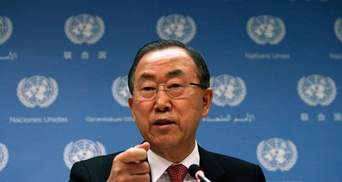 Пан Гі Мун засудив події в Грозному