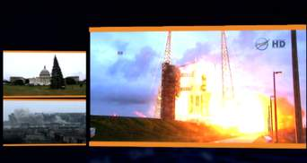 """""""Настоящее время"""". Донецький аеропорт знову обстрілюють, НАСА запустила """"ОРІОН"""""""