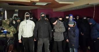 В Киеве неизвестные разгромили казино (Фото)