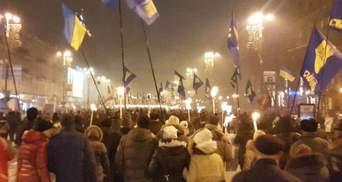 У Києві 5-ти тисячна смолоскипна хода до дня народження Бандери