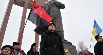 У Львові відзначили річницю дня народження Степана Бандери