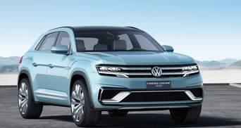 Volkswagen представив у Детройті кросовер Cross Coupe GTE