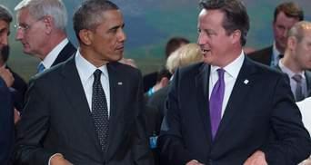 Кемерон і Обама продовжать тиск на Росію