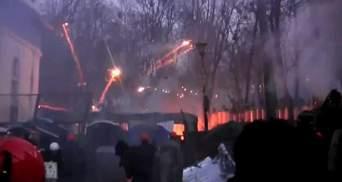 Евромайдан. Хроника 20 января: бои на Грушевского продолжаются, у активистов - катапульта
