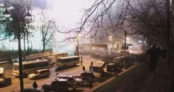Хроніка 21 січня 2014: тітушки в Маріїнському парку, сутички беркутівців з майданівцями