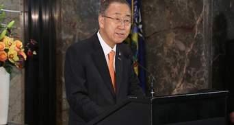 Генсек ООН рішуче засудив ракетний обстріл Маріуполя