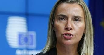 Могерини анонсировала внеочередное заседание Совета ЕС из-за обстрела Мариуполя