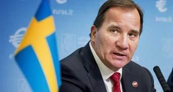 Премьер Швеции выразил соболезнования Порошенко и пообещал приехать в Украину