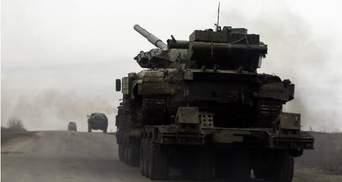 Боевики перебросили в сторону Дебальцева 6 танков и другую тяжелую технику, — ИС