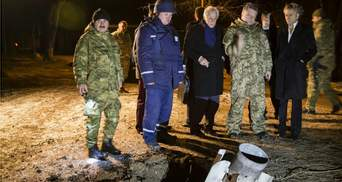 """Порошенко візьме у Мінськ елемент касетного боєприпасу """"Смерч"""", якими обстріляли Краматорськ"""
