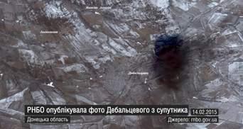 """Неделя в фото. """"Азов"""" пошел в наступление, шокирующее фото Дебальцево со спутника"""