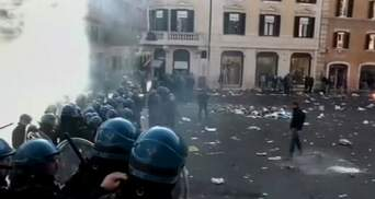 Голландские фанаты устроили в Риме погром