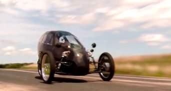 Гібрид електромобіля та велосипеда від американського винахідника
